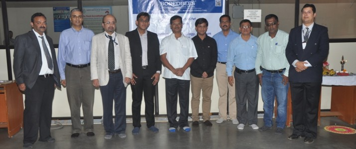 Inauguration of BoredBees Tech Solutions India Pvt. Ltd at KLS, Gogte Institute of Technology- Incubation Centre, Belagavi