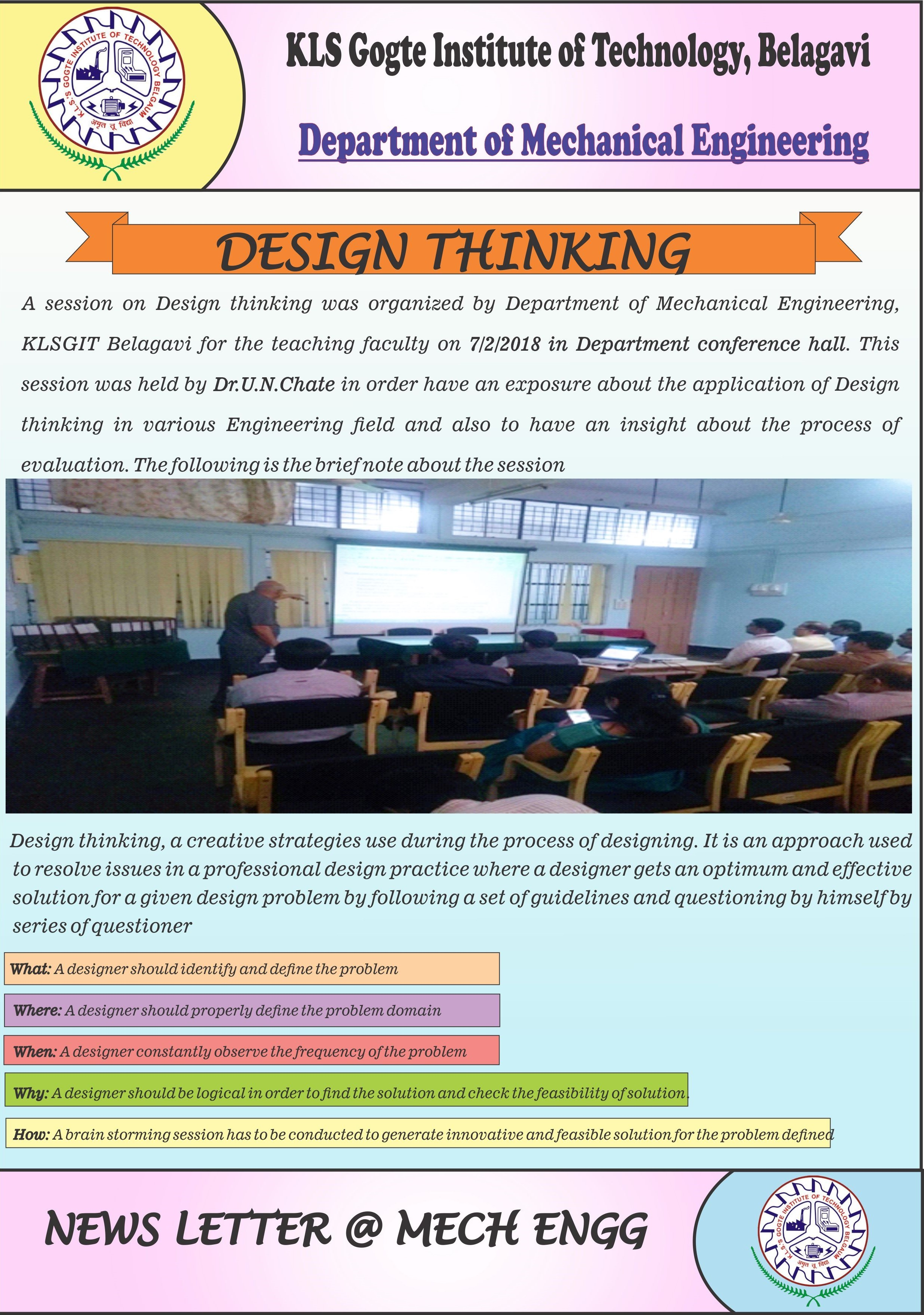 News Letters Feb 2018 Kls Gogte Institute Of Technology