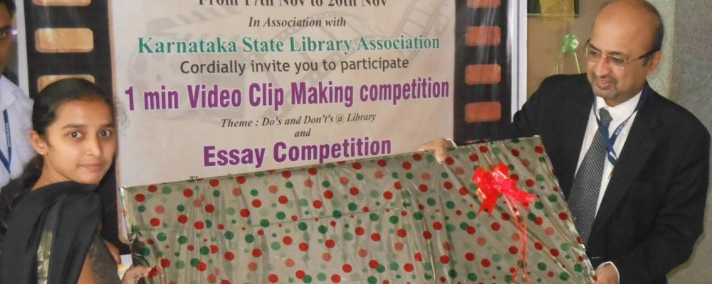 IN NLW EVENT 1ST PRIZE ON ESSAY WRITING