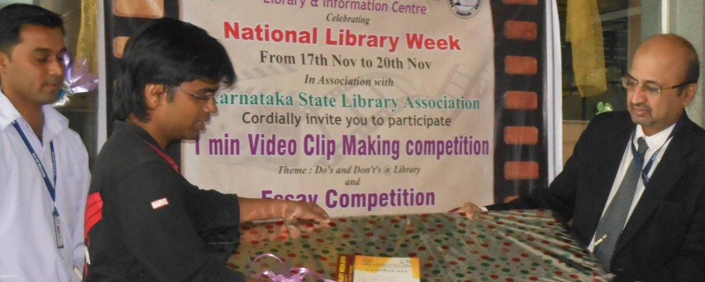 IN NLW EVENT 1ST PRIZE ON VIDEO MAKING