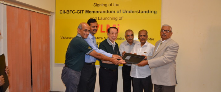 KLS GIT signed a historic MOU with CII and BFC