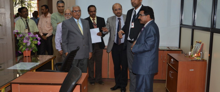 The newly established Examination Cell of KLS Gogte Institute of Technology was inaugurated