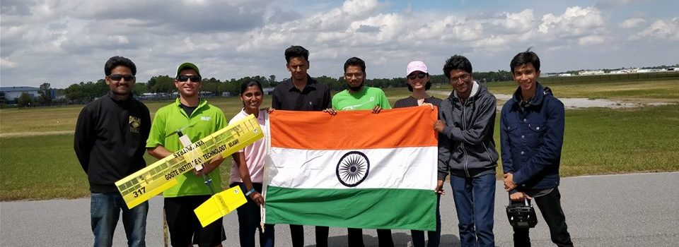 Team Vayuputras topped 15 in SAE Aerodesign competition
