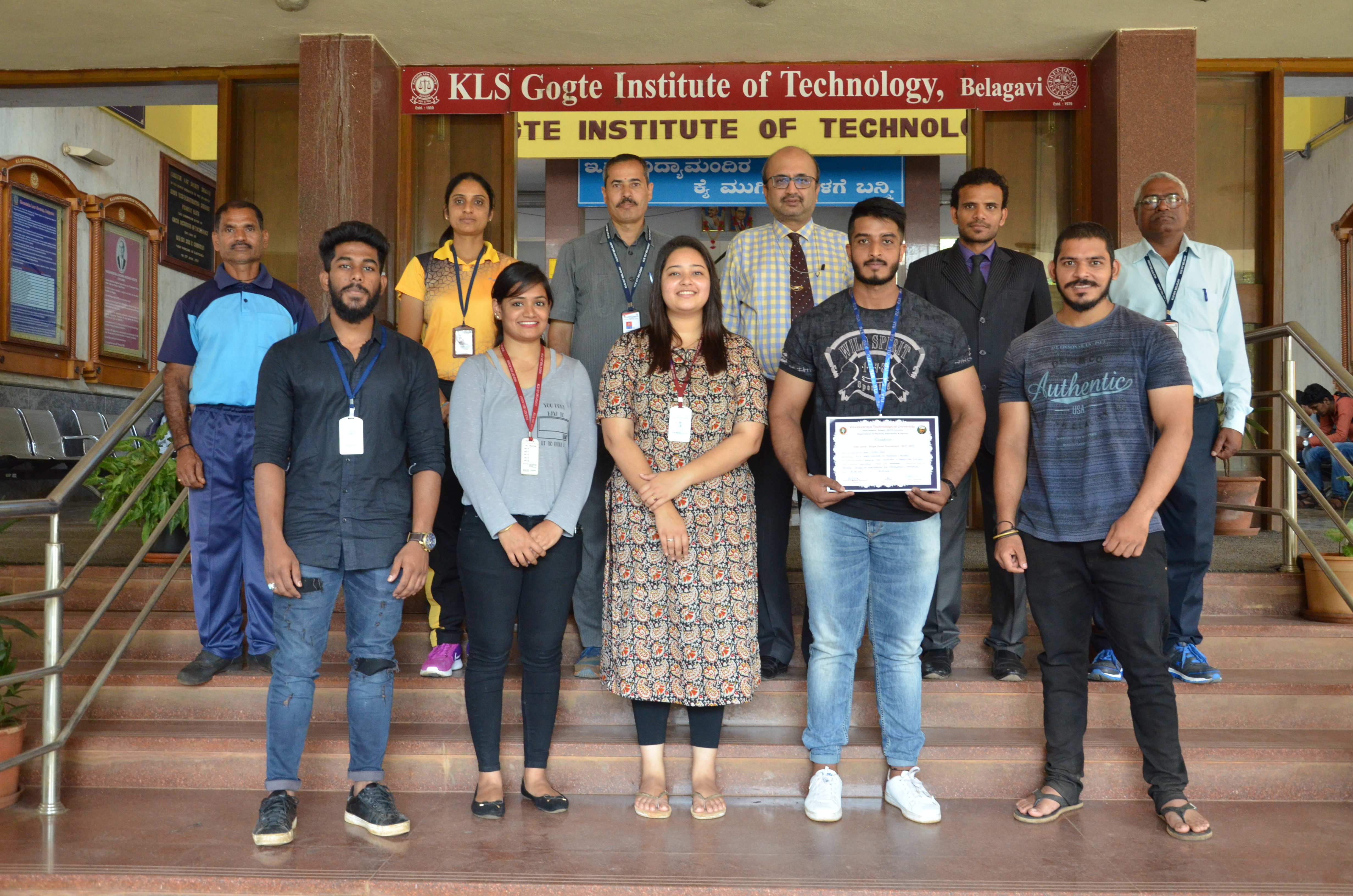 Sports and Multi Gym – KLS Gogte Institute of Technology, Belagavi